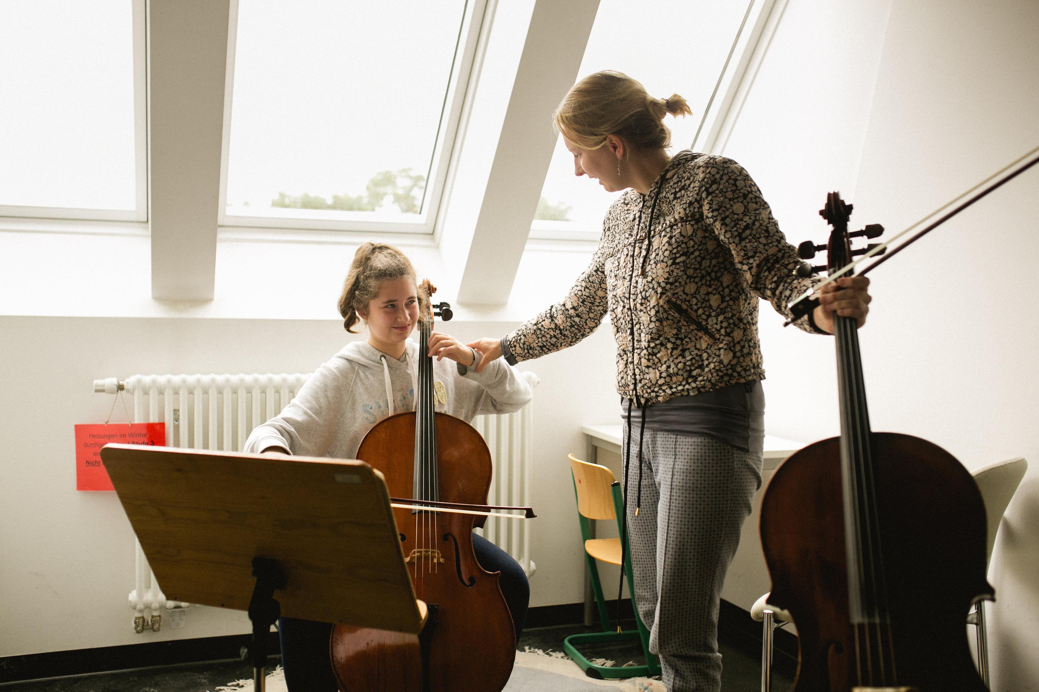Und sie spielt Cello - So geht sächsisch.